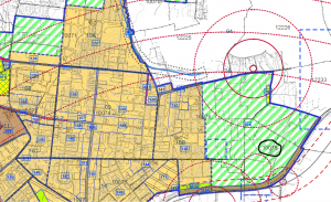 ייעוד גוש 10078 לטובת אזור חקלאי לפי תשריט ייעודי הקרקע המצורף לתכנית המתאר החדשה לכלל  המועצה פרדס חנה כרכור. תכנית שנותנת ייעוד לכל שטחי המועצה עד לשנת 2030.