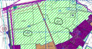 ייעוד גושים 10097 ו 10094 לטובת אזור חקלאי לפי תשריט ייעודי הקרקע המצורף לתכנית המתאר לכלל העיר פרדס חנה. תכנית שקובעת את ייעודי כל המועצה עד לשנת 2030