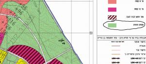 ייעוד חלקה 15 בגוש 6285 לטובת אזור חקלאי (שטח פתוח) לפי תשריט ייעודי הקרקע של תכנית המתאר רצ/2030 לכלל העיר ראשון לציון. הנמצאת בהפקדה במחוזית. תכנית שנותנת ייעוד לכלל השטחים בעיר עד לשנת 2030. להגדלה - לחץ על התמונה.