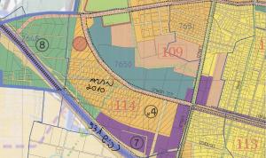 """ייעוד החלקות הנ""""ל בגוש 7650 לטובת מגורים בבניה רוויה (צבע כתום) כחלק ממתחם 4 א (מתחם 2010) לפי תשריט ייעודי הקרקע המצורף לתכנית המתאר רע/3000 לכלל העיר רעננה. למתחם זה תקום בעתיד תכנית פרטנית ונקודתית הנגזרת מתכנית המתאר."""