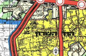 ייעוד חלקה 19 בגוש 6453 לטובת פיתוח עירוני. תיכלל בתכנית עתידית יחד עם החלקות צמודות לה, תכנית שתתמקד באזור שממזרח לכביש 4 בלבד.